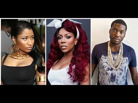 K Michelle Says Nicki Minaj Blocked her Song because Nicki thought she tried to smash Meek Mill.