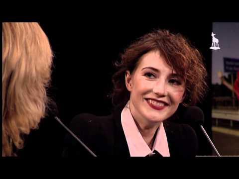 Interview Claudia de Breij met Carice van Houten tijdens NFF