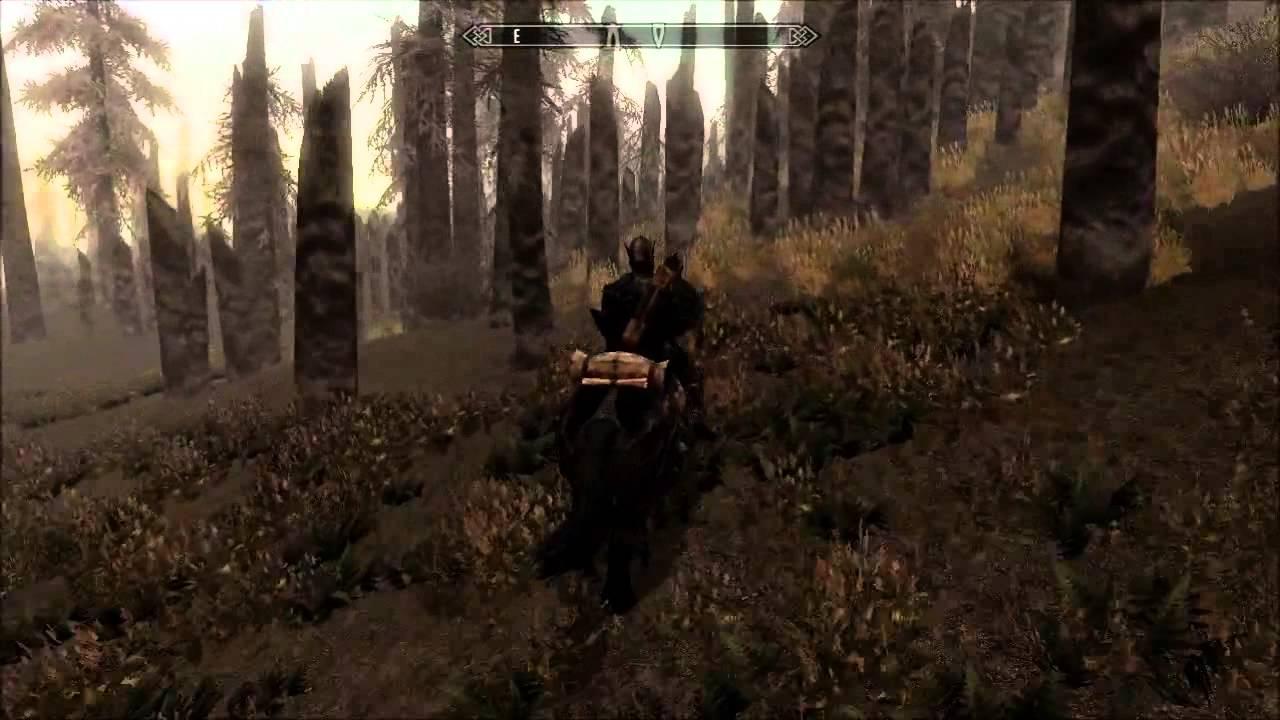 Skyrim Shadow Of Morrowind World Exploration Map Youtube