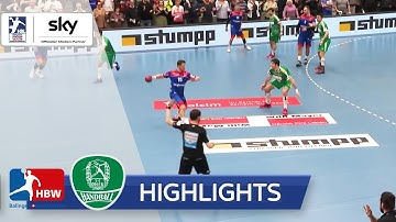 HBW Balingen-Weilstetten - SC DHfK Leipzig | Highlights - LIQUI MOLY Handball-Bundesliga 2019/20