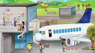 Tiny Airport Toddler Seek & Find - Best iPad app demo for kids