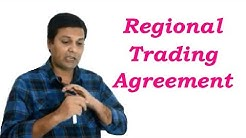 Regional Trading Agreements