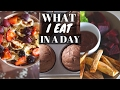 WHAT I EAT IN A DAY//EASY, HEALTHY & VEGAN RECIPES