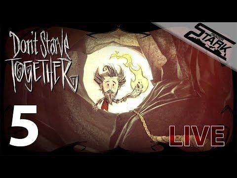 Don't Starve Together - 5.Rész (Vár a föld mélye) - Stark LIVE