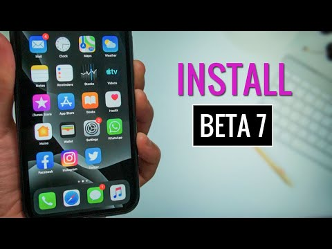 Install iOS 13 Beta 7 on Your iPhone/iPad using Beta Profile