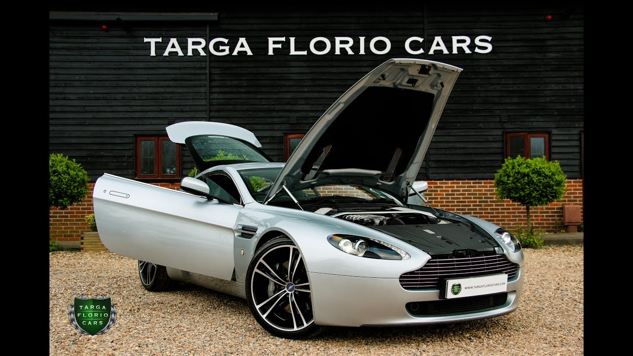 aston martin vantage 4.3 v8 2dr manual coupe 2006 in titanium silver