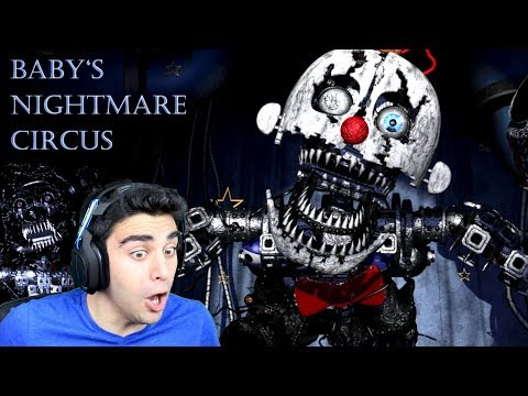 ENNARD AND BABYGEIST ARE THE FINAL BOSSES!!! - Baby's Nightmare Circus (The Babygeist Ending)