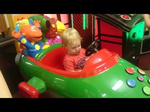 Tweenies Rocket Kiddie Ride Doovi