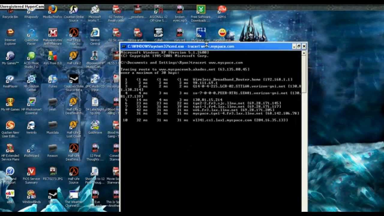 computer hacking tricks using command prompt