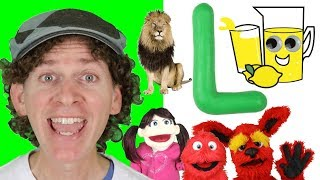 Letter L | Today's Letter Song with Matt and Friends | Preschool, Kindergarten, Learn English