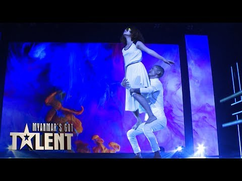 Mr Hi & IG: Semi-Final 3 | Myanmar's Got Talent 2018