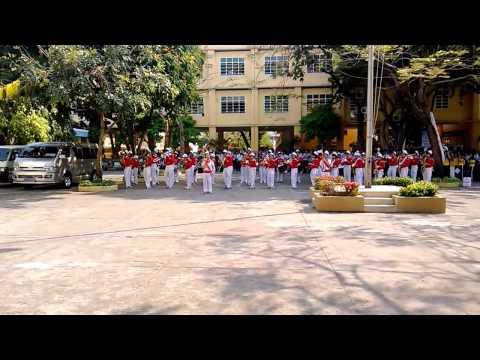 Đội Nhạc kèn Võ Thành Trang biểu diễn tại trường NTH