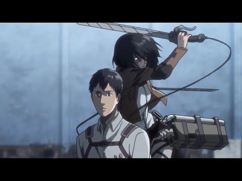 Mikasa Tries To Kill Bertholdt | Attack On Titan Season 3 | Eng Sub