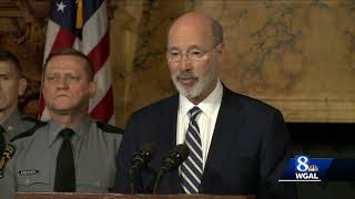 Governor, state police call for expansion of background checks for gun purchases