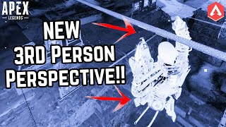 NEW FIRING RANGE EASTER EGG FOUND!! How To Get 3RD PERSON PERSPECTIVE In Apex Legends