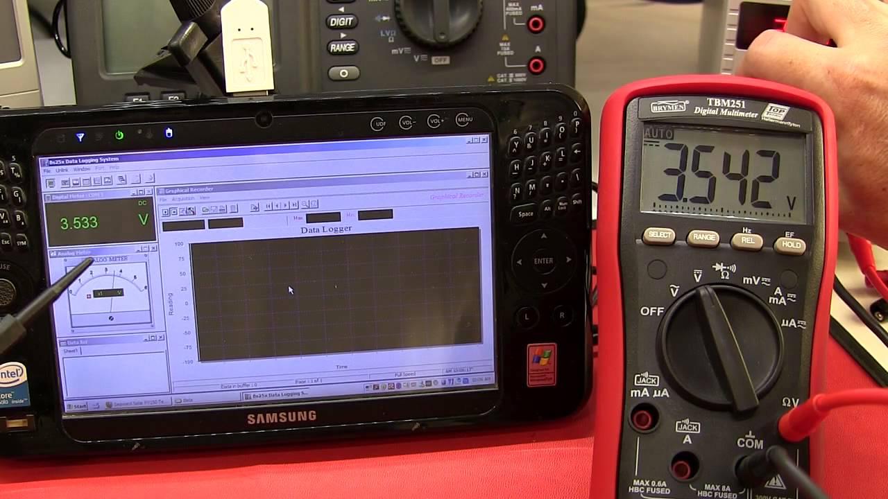 Review: Pt 2 Brymen TBM251 / BM251 PC Data Logging Software - Самые