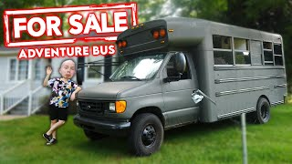 homepage tile video photo for I'M SELLING THE ADVENTURE BUS... Here's Why...