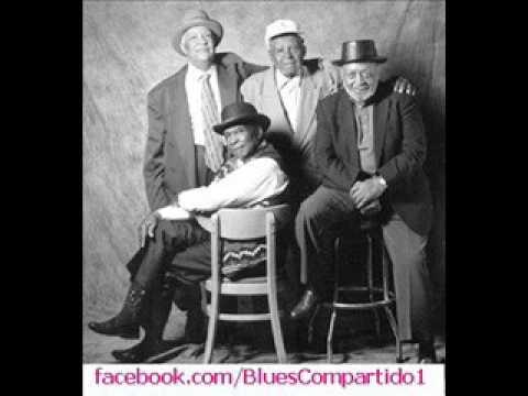 "David ""Honeyboy"" Edwards - Homesick James - Robert Jr Lockwood, Chicago Blues Festival. 2004"