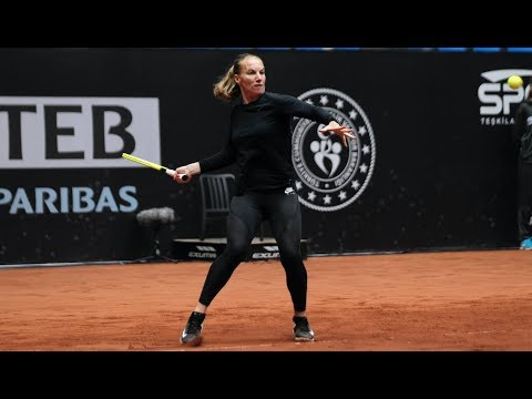 Svetlana Kuznetsova | 2019 TEB BNP Paribas Istanbul Cup Day 2 | Shot of the Day
