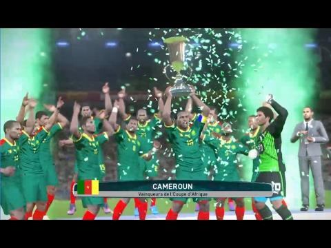 [PES2017] Cameroun vs Egypte   Finale Coupe d'Afrique 2017   05 Fevrier 2017