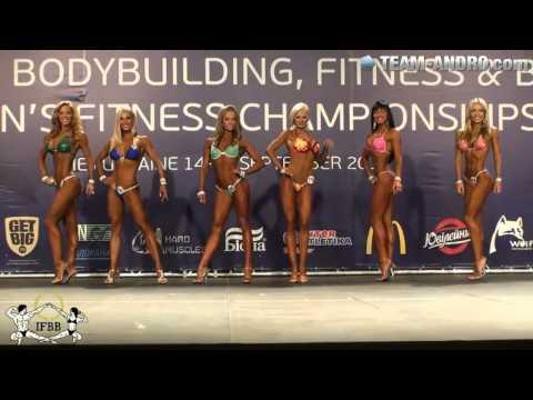 """Финал чемпионата мира """"Фитнес-бикини 2013"""" среди женщин до 168 см"""