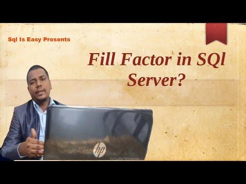 Importance Of Fill Factor In Sql Server