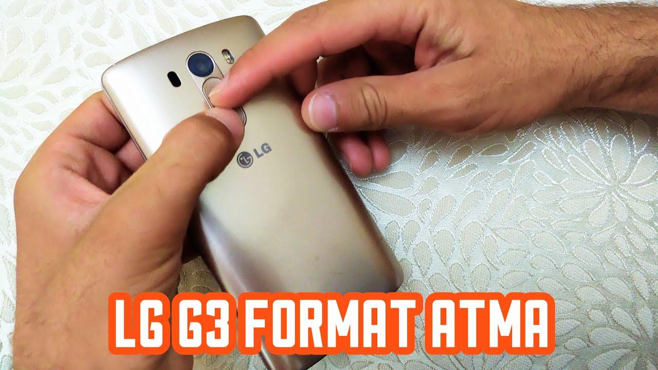 Lg G2 G3 G4 G5 V10 modellere Hard Format  Nasıl Atılır.!