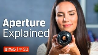 Photography For Beginners How To Get Background Blur Aperture Tutorial DIY In 5 Ep 30