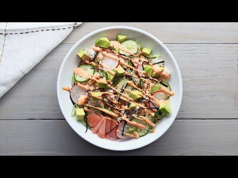 Crunchy California Roll Sushi Bowl