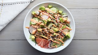 Crunchy California Roll Sushi Bowl