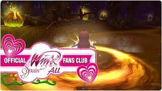Winx Club PC Game - 10. Labyrinth with awful tarantulas