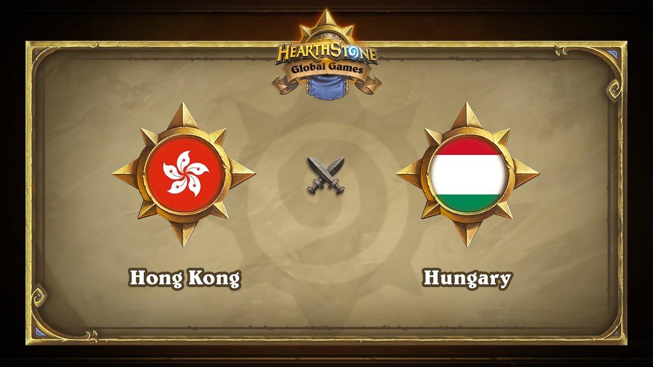 Гонконг vs Венгрия |  Hong Kong vs Hungary | Hearthstone Global Games (23.05.2017)