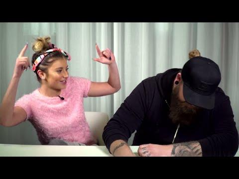 Hanna och Chris gör ett first bite experiment - Idol 2017  - Idol Sverige (TV4)