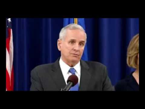 Minnesota Governor Talks Racism, Police Crime, Philander Castile