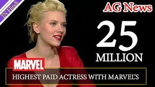 Scarlett Johansson To Become Hollywood's Highest Paid Actress With Marvel's Black Widow Movie