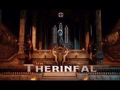 Dragon Age: Inquisition - Therinfal Redoubt: Great Hall (1 Hour of Ambience)