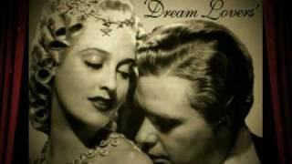 Jeanette MacDonald & Nelson Eddy DREAM LOVERS Slideshow and Medley