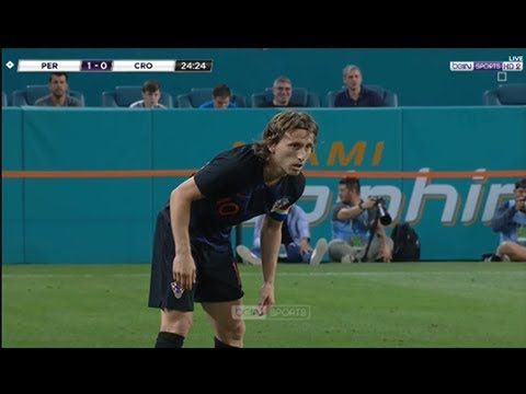 Luka Modric vs Peru Friendly (24/03/2018) 1080i