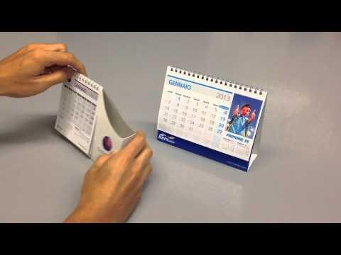 Calendari personalizzati da tavolo youtube - Calendari da tavolo personalizzati ...