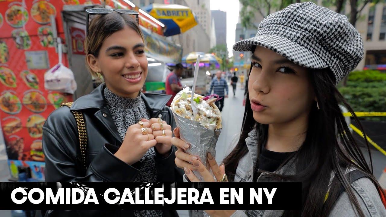 Download DOS MEXICANAS PROBANDO COMIDA CALLEJERA EN NEW YORK   TV Ana Emilia