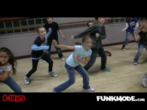 Headsprung - LL Cool J - FUNKMODE Kids Hip Hop Dance Class - December 2009