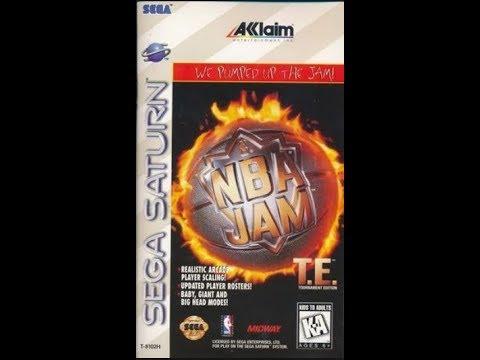 NBA Jam Tournament Edition (Saturn) Extra Easy Mode Playthrough