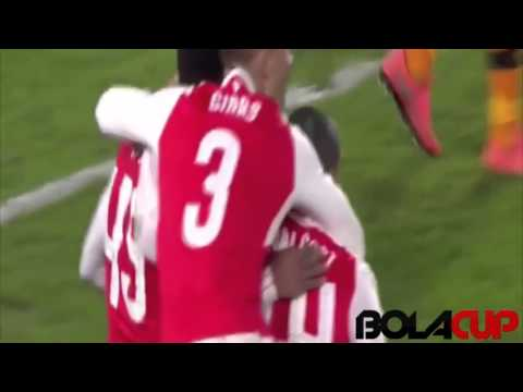 Hull City 0 - 4 Arsenal | All Goals | 09-03-16 | Bolacup