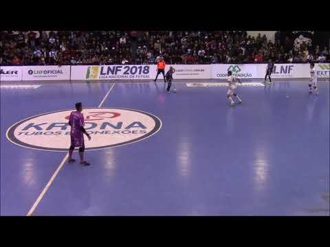 Liga Nacional: Pato 7x1 Blumenau Futsal