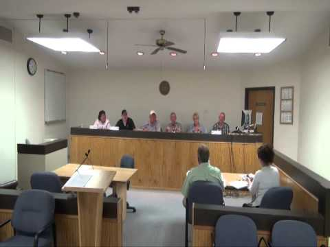 Rangely Town Council Meeting 5-14-13