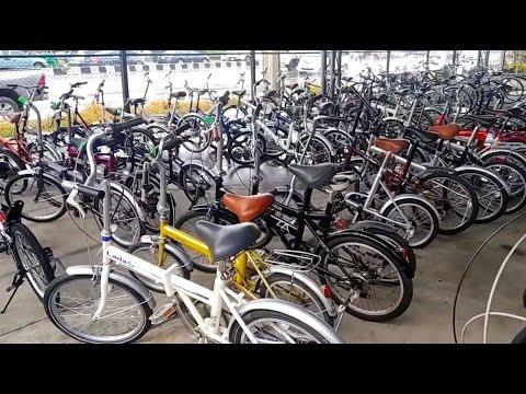 จักรยาน พับ 23,xxx มือ2 จากญี่ปุ่น ซื้อหลายคัน คิดราคาส่ง ถูกลงอีก โกดังใหญ่ @เจ ไบค์ พุทธมณฑลสาย4