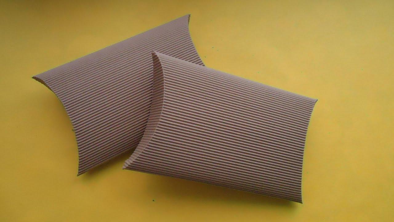 Caja ovalada de cartón corrugado | PumitaNegraArt🐾 - YouTube
