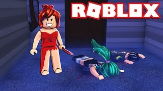 THE GIRL OF THE RED DRESS HATES US!! HUYE AND DESTRUYE THE CRYSTALS in ROBLOX 😱