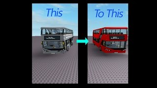 Editing a bus on ROBLOX Studio this takes time to do