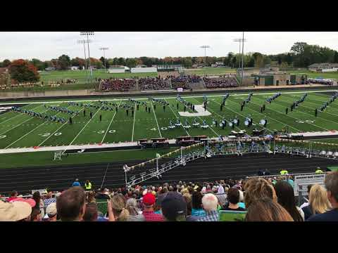 Petoskey High School at Jenison Band Competition 10_21_17